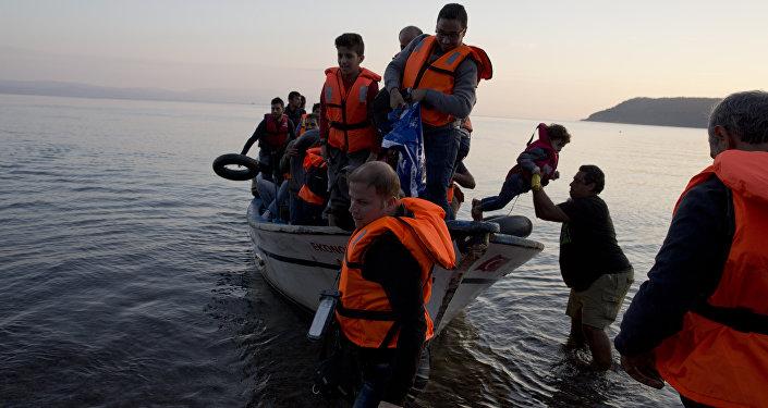 Les réfugiés syriens en Grèce