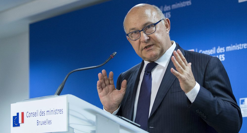 Le ministre des Finances Michel Sapin