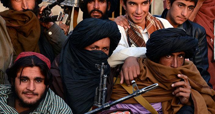 Des talibans afghans