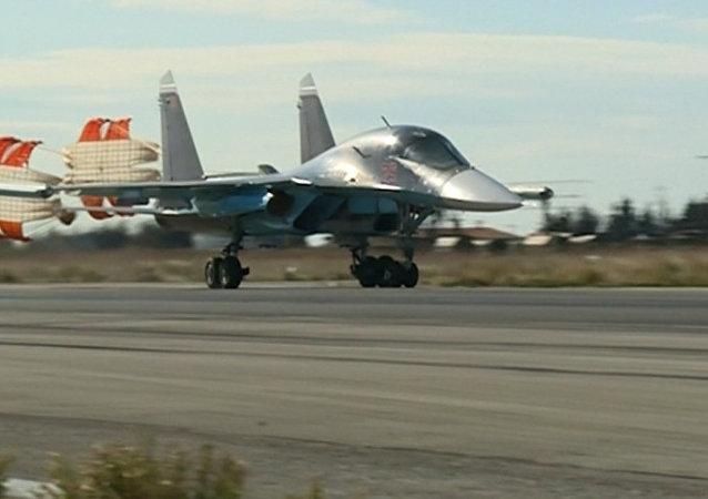 Syrie: les chasseurs russes poursuivent leur lutte contre l'EI