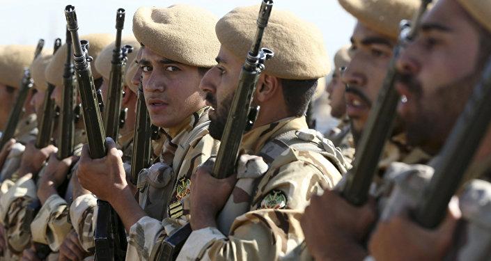 Soldats iraniens