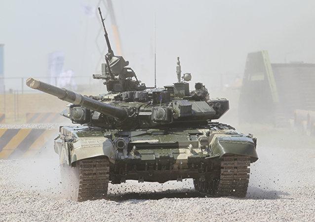 Der neue Panzer T-90