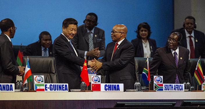 Le sommet Chine-Afrique ,Johannesburg