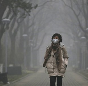Pollution record à Pékin