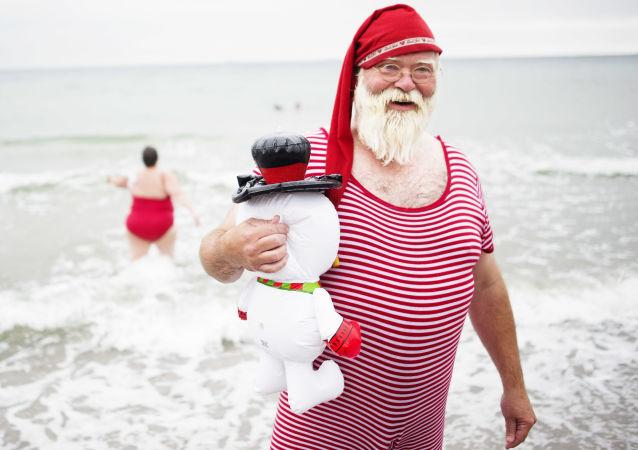 Le père Noël relooké