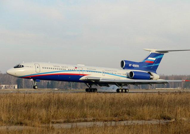 Un Tupolev Tu-154M Lk-1