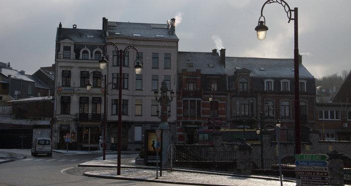 Place de la Gare centrale à Verviers