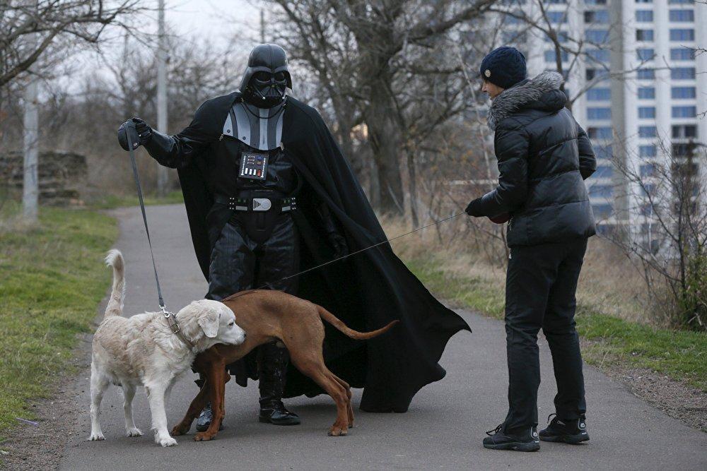 Le quotidien du Dark Vador d'Odessa