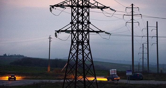 Poutine lance la 2eme ligne du pont énergétique en Crimée