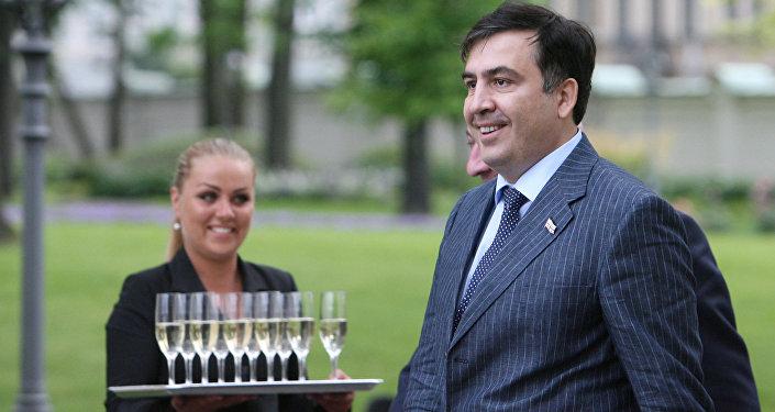 Le président géorgien Mikhaïl Saakachvili