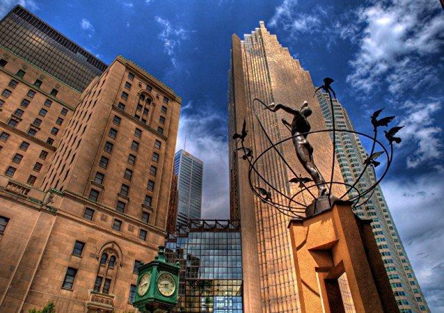 Monument du multiculturalisme par Francesco Pirelli, Toronto,Canada
