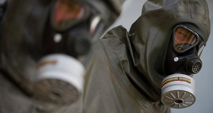 Masques à gaz. Image d'illustration