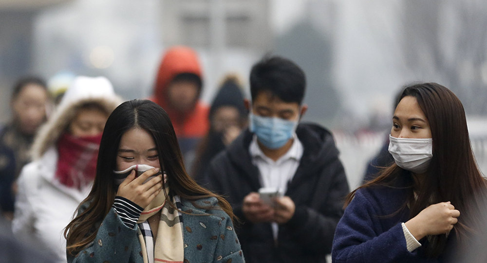 Pollution de l'air à Pékin