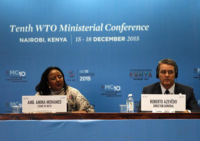 La dixième conférence ministérielle de l'OMC à Nairobi