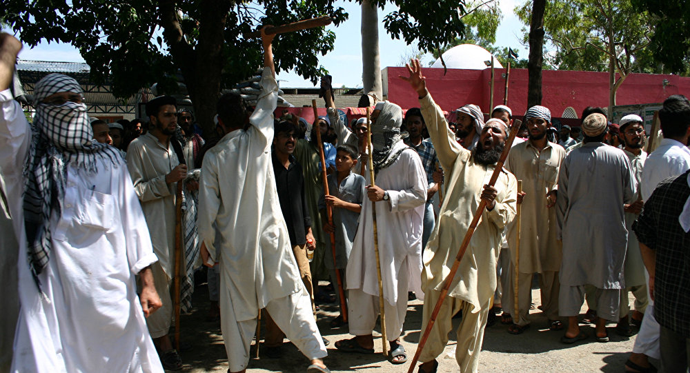 Islamistes radicaux à Islamabad (archives)