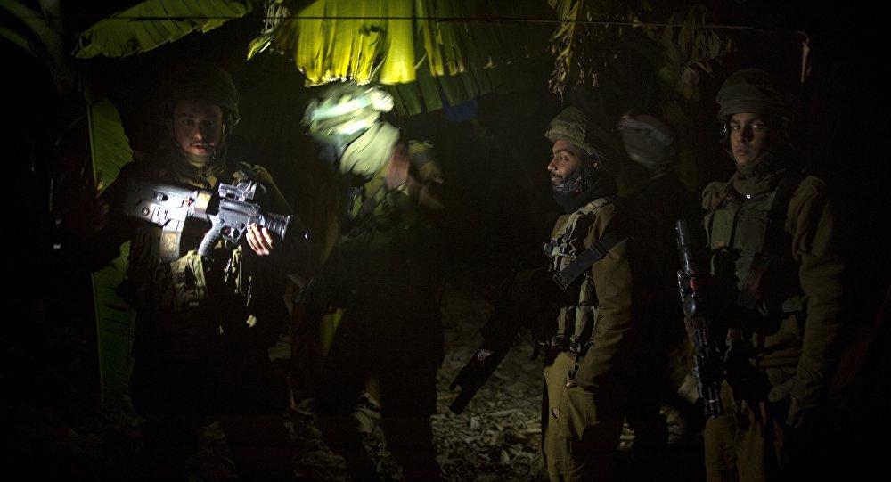 Membres des forces de défense israéliennes, Dec. 20, 2015.