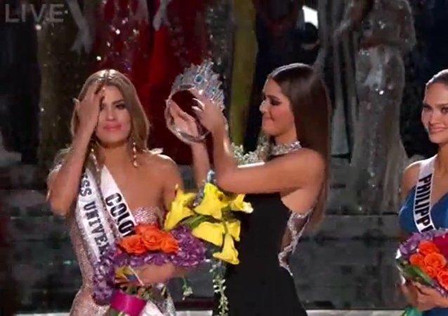 Scandale lors du concours Miss Univers 2015