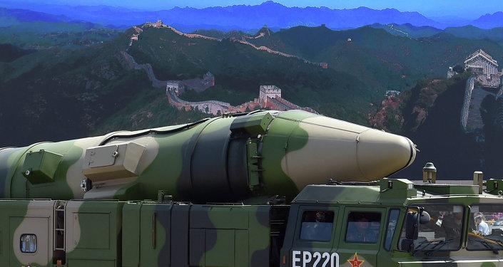 Chine: tir d'essai d'un nouveau missile balistique intercontinental