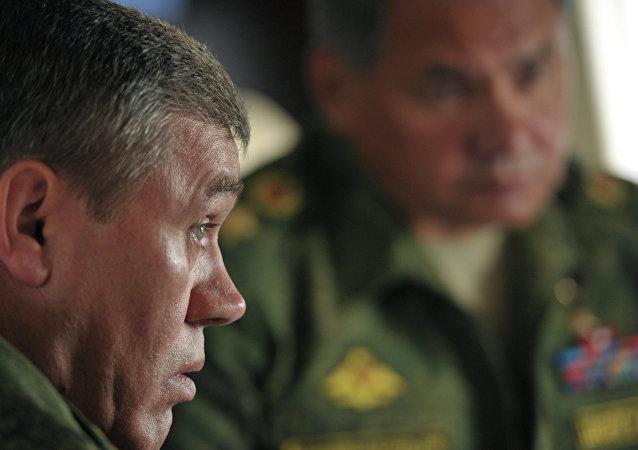 le général Valeri Guerassimov