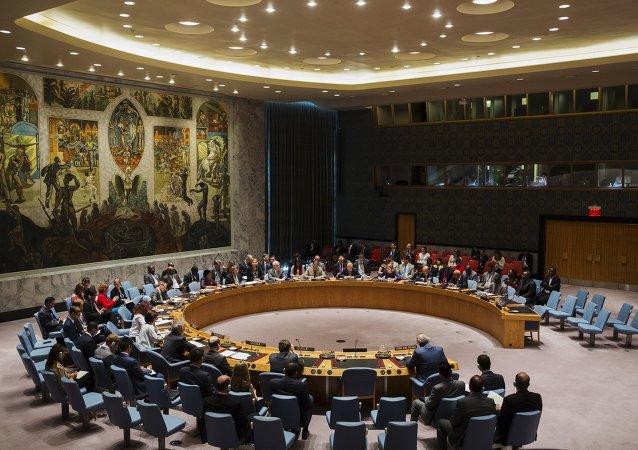 Une réunion du Conseil de sécurité de l'Onu