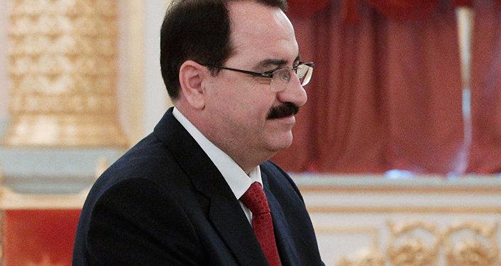 Riad Haddad, ambassadeur extraordinaire et plénipotentiaire de la République arabe syrienne en Russie