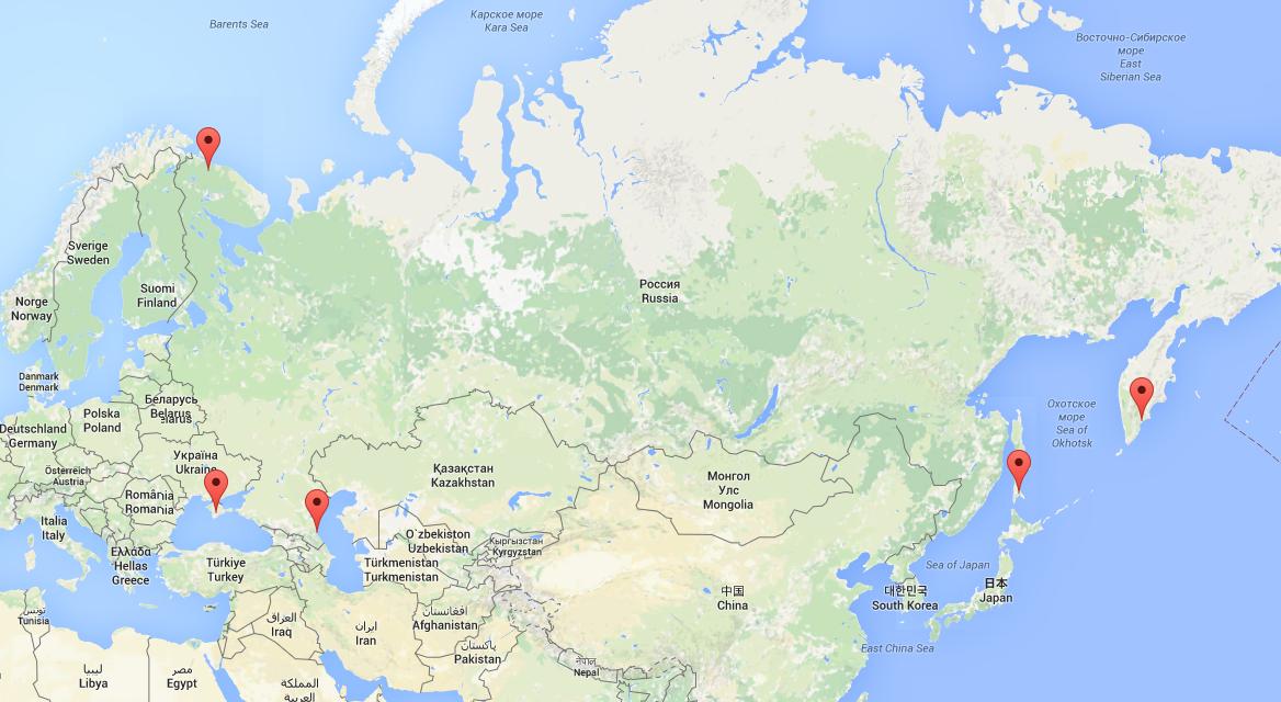 Poutine ordonne la création de centres antiterroristes dans cinq villes littorales