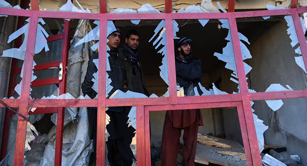 Attentat suicide près de l'aéroport de Kaboul en Afghanistan