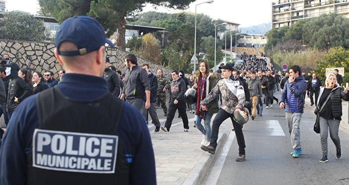 violences à Ajaccio