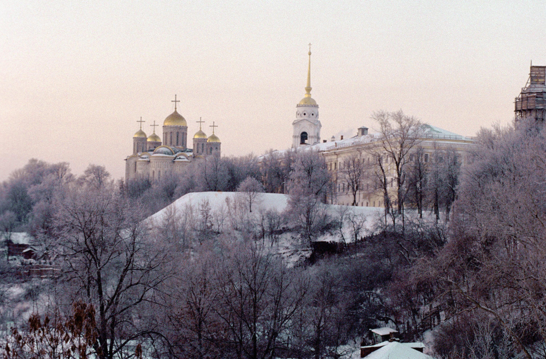 Vladimir en hiver