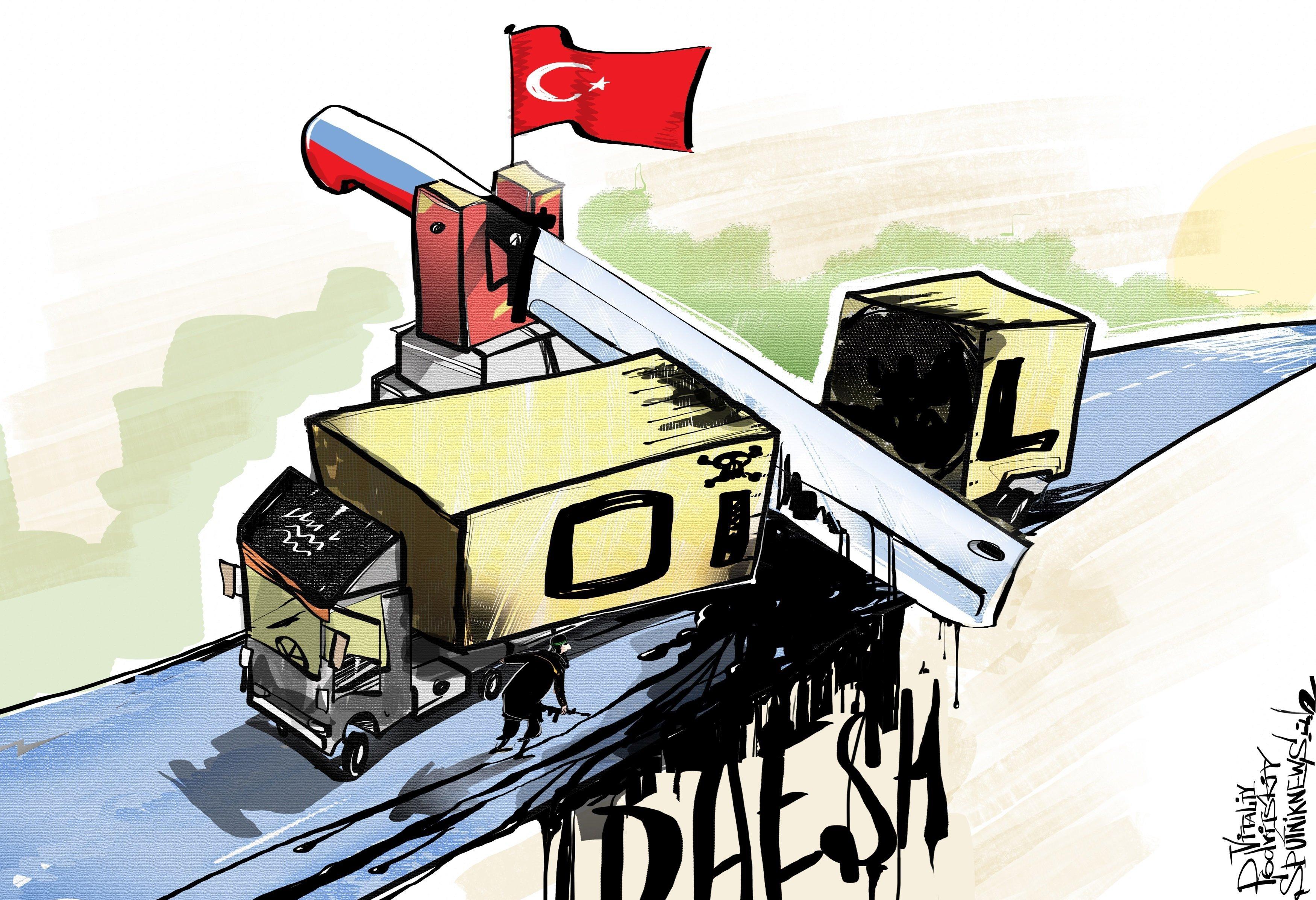 Quand Daech se vide de son pétrole