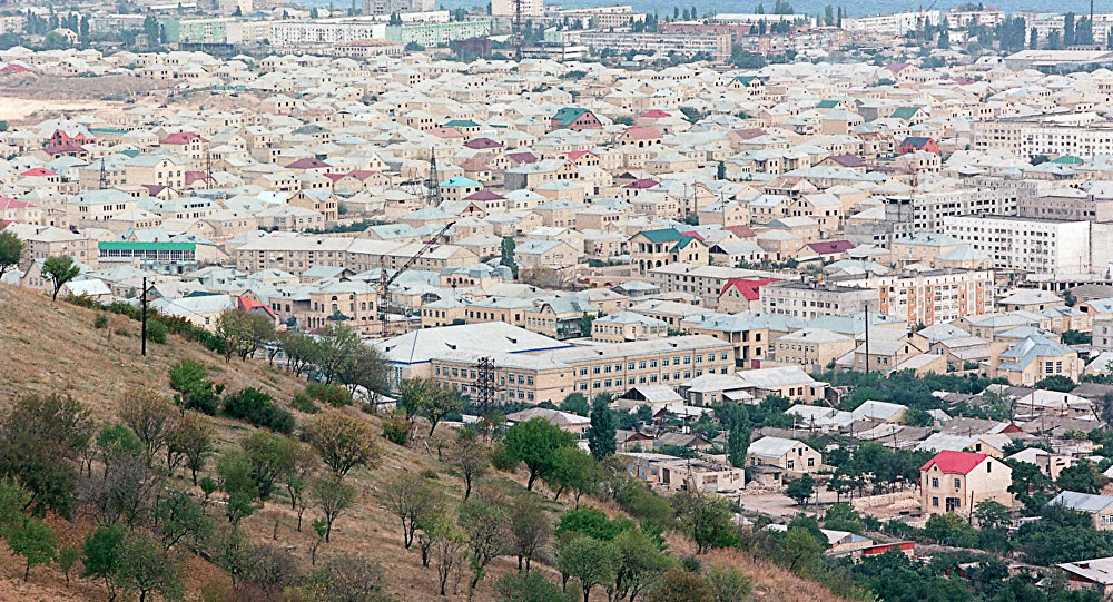 La ville de Derbent