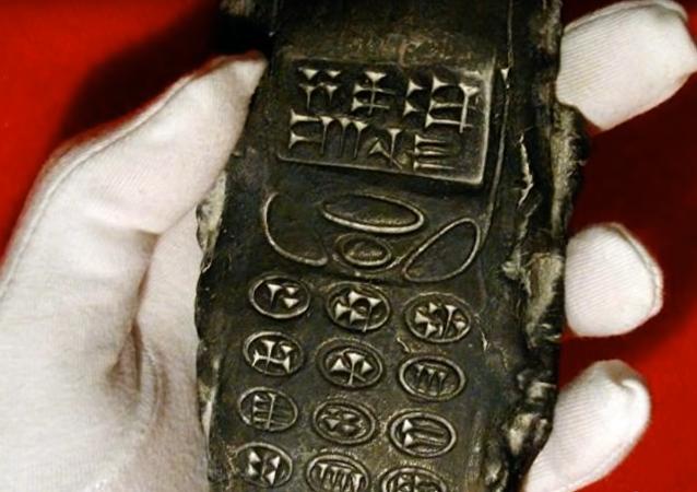 Découverte d'un portable âgé de 800 ans