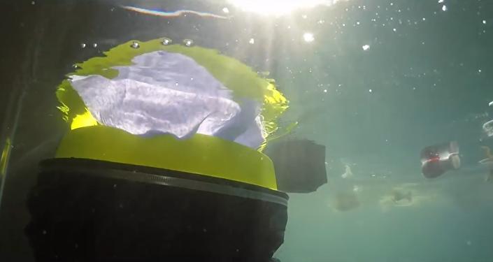 L'aspirateur sous-marin