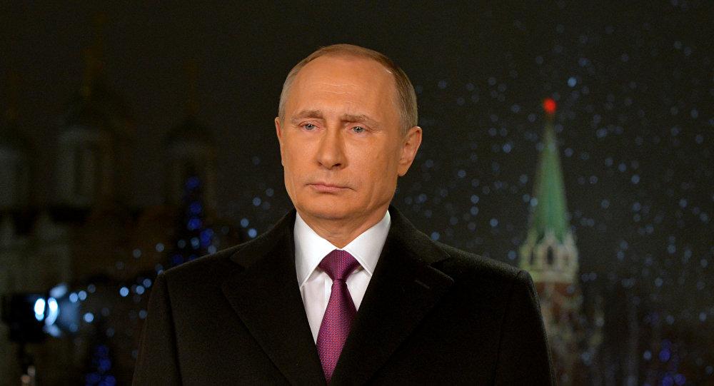 Le président Poutine adresse aux Russes ses vœux du Nouvel An