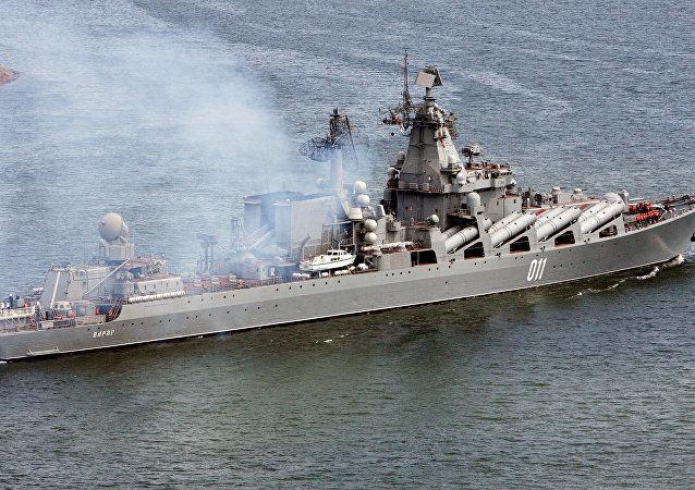 Le croiseur lance-missiles russe Variag