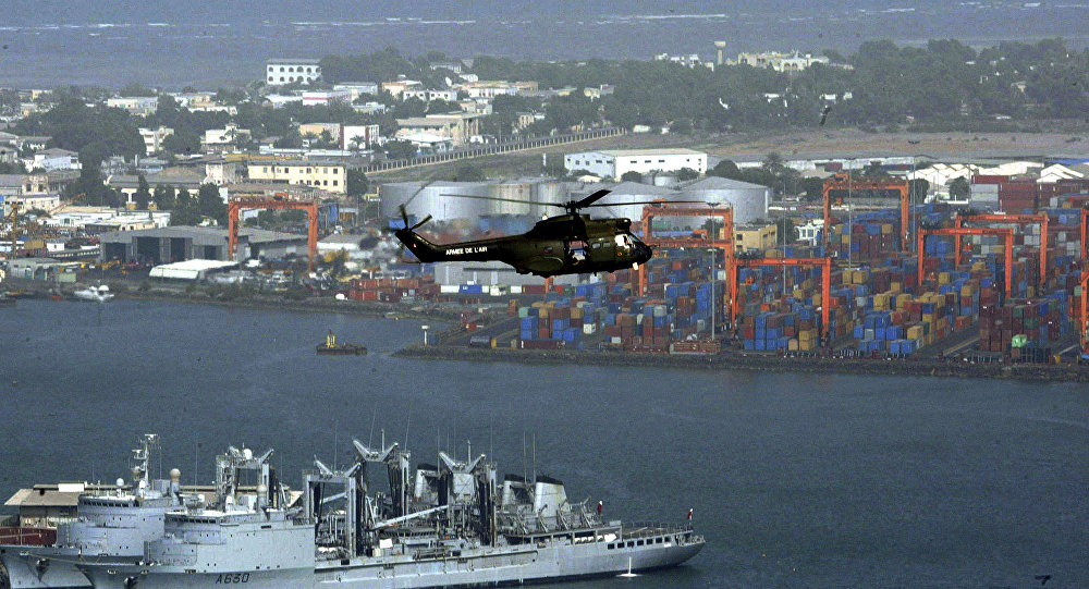 Le port de Djibouti