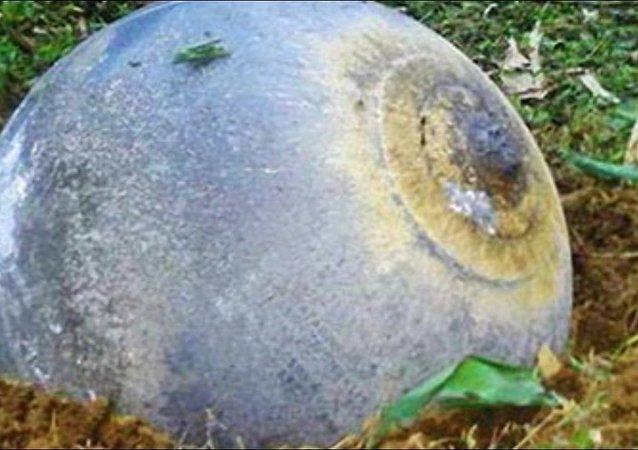 Mystérieuses sphères métalliques trouvées au Vietnam