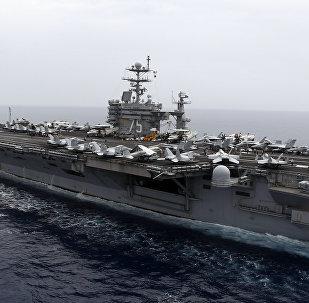 Le porte-avions américain USS Harry.S Truman