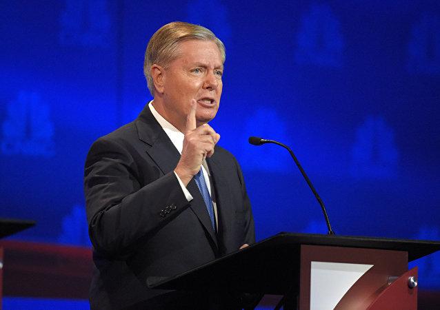 Le sénateur américain Lindsey Graham