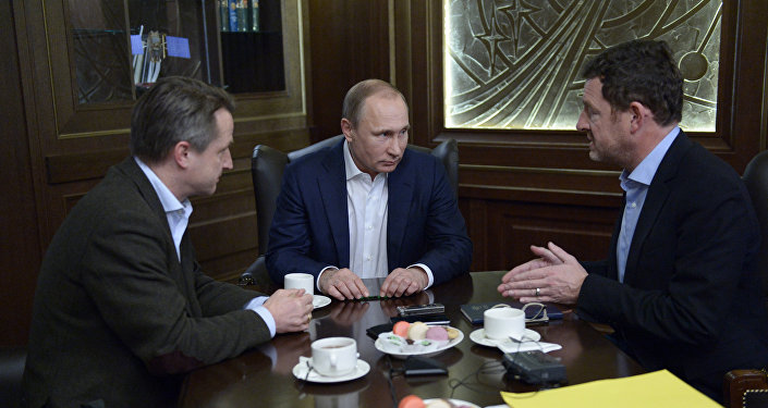 Interview de Vladimir Poutine au Bild