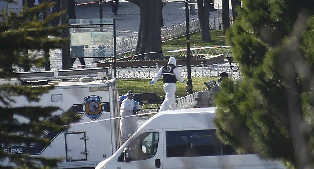 Explosion dans le centre d'Istanbul
