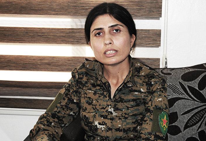 le bataillon féminin kurde YPJ