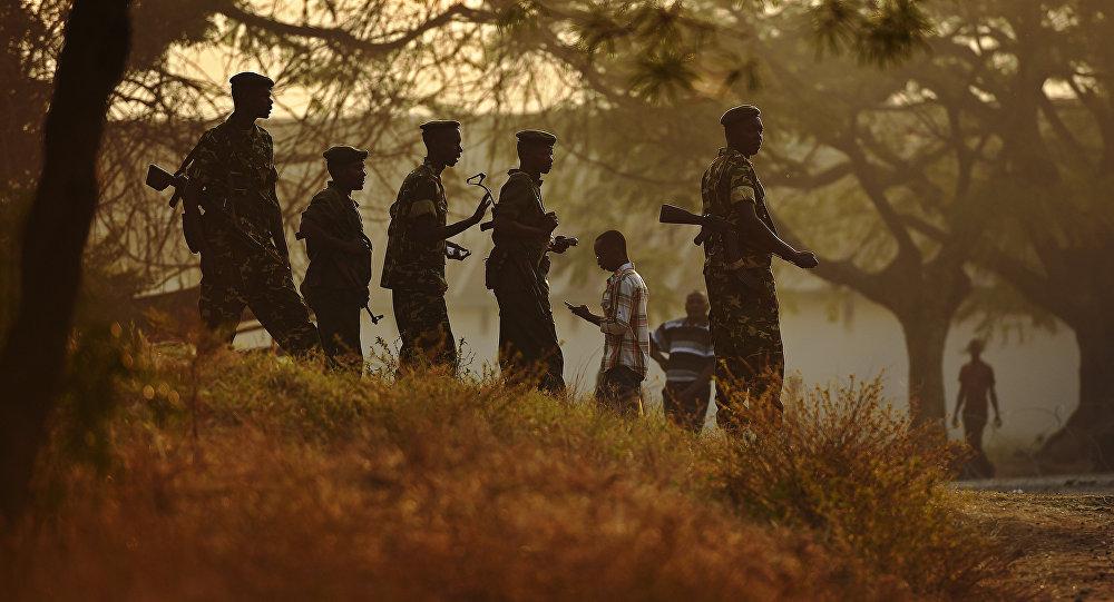 Soldats au Burundi