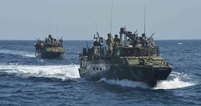 arrrestation de marins US par l'Iran