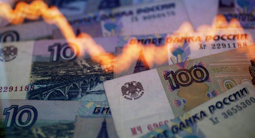 Les roubles russes