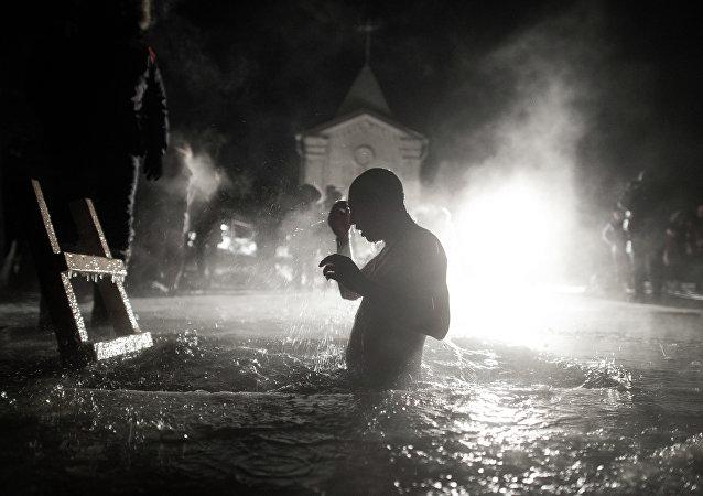 Théophanie: près de 150.000 personnes ont fêté à Moscou