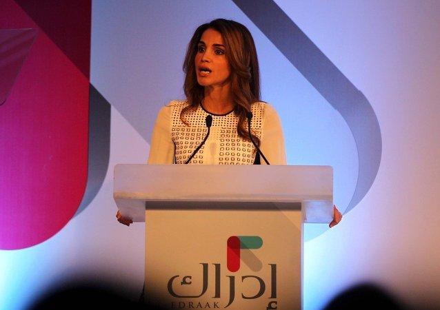 La reine Rania de Jordanie