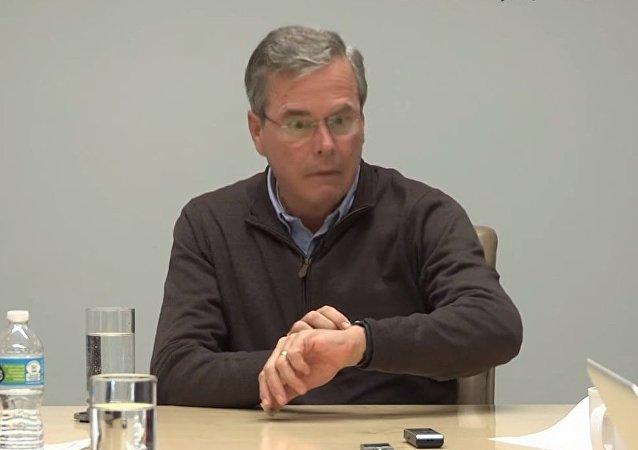 Les montres ont effrayé Jeb Bush