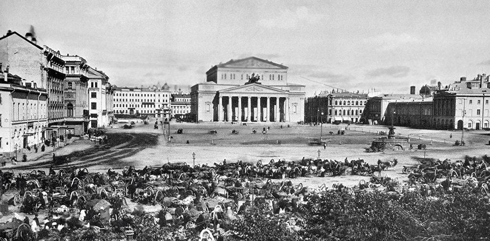Les photos historiques rares de Moscou au 19ème siècle