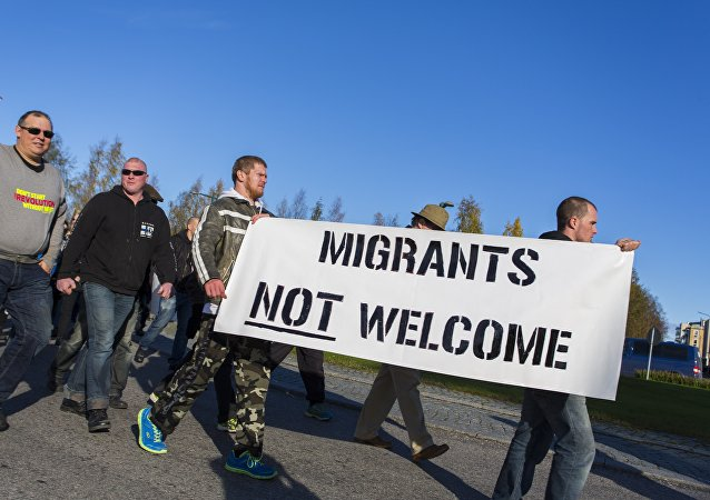 Manifestation anti-migrants